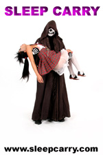 Sleep Carry - Innocent Damsels in Distress Carried to Safety... or Torment! - www.sleepcarry.com